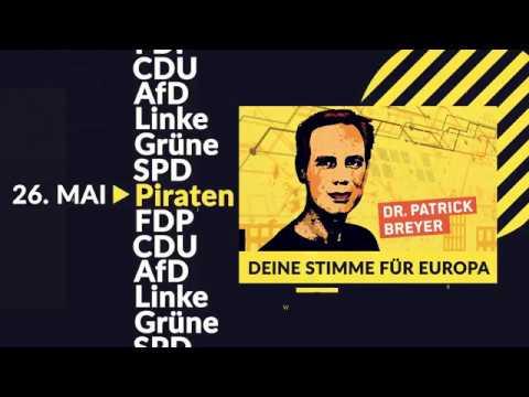 Wahlwerbespot der Piratenpartei zur Europawahl 2019