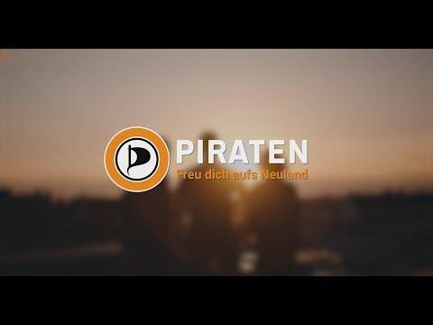 Wahlwerbespot zur Bundestagswahl 2017 - Wähle am 24.9. das größte Digital-Kollektiv: die Piraten.