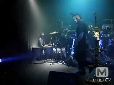 Combichrist - I Want Your Blood (Live on Mania TV)