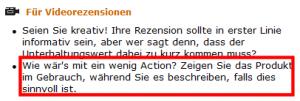 Amazon-Rezensionen