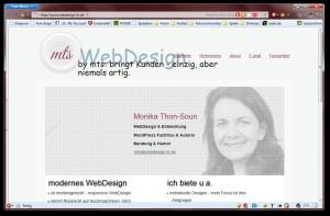 Webdesign-in.de ohne JavaScript