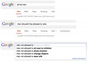 Google und die Männerrechte
