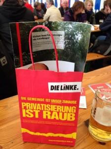 Privatisierung ist Raub
