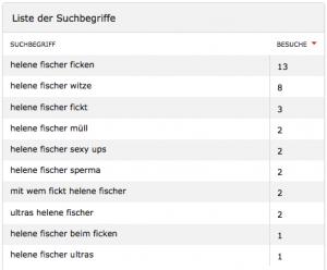 Suchbegriffe: Helene Fischer