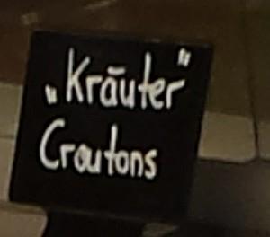 """""""Kräuter""""-Croutons"""