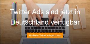 Twitter Ads sind jetzt in Deutschland verfügbar