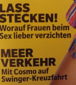 Cosmopolitan - Lass stecken!