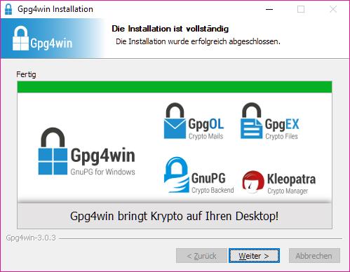 Gpg4win bringt Krypto auf Ihren Desktop!