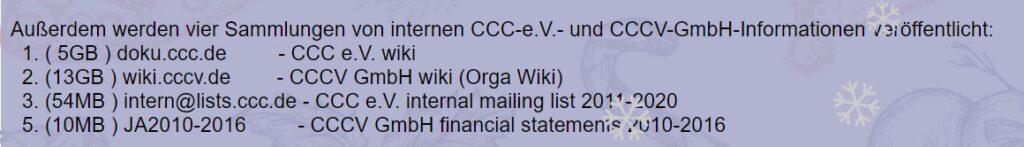 CCC-Leaks
