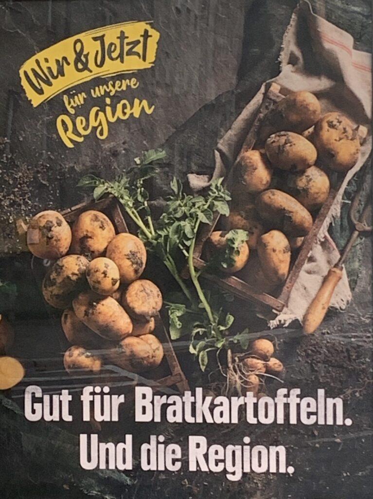 Gut für Bratkartoffeln. Und die Region.